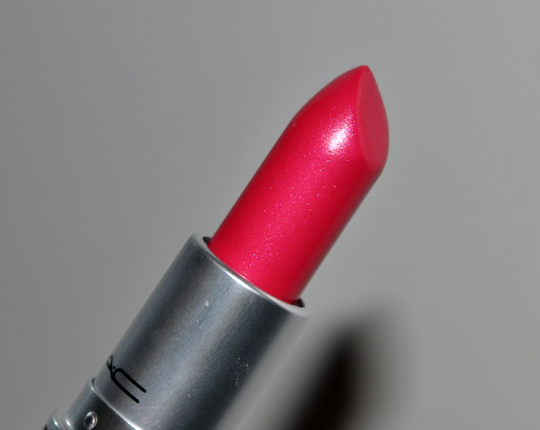 The Summer Season Mac Full Fuchsia Lipstick