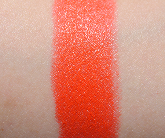MAC Neon Orange Lipstick