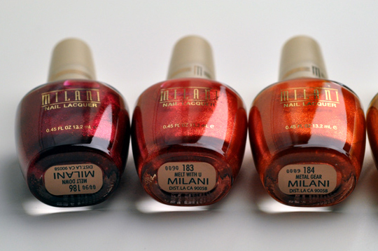 Milani Summer Nail Collection