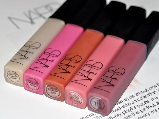 NARS Lipgloss Sephora Exclusives