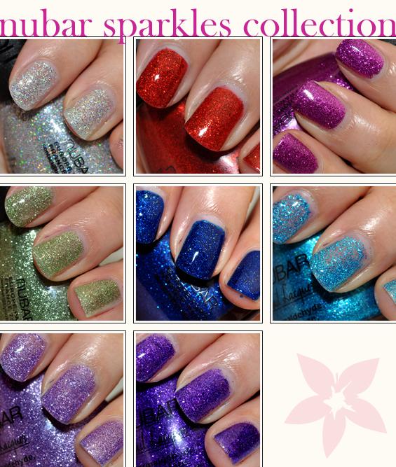 Nubar Sparkles Collection