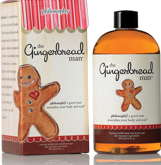 Philosophy Gingerbread Man Shower Gel