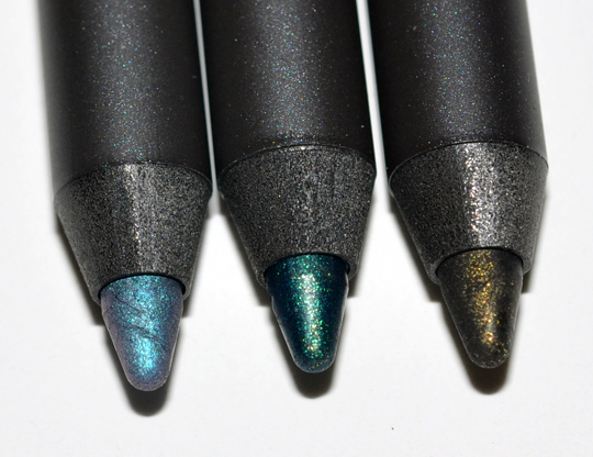 MAC Art Supplies Collection:  Pearlglide Eyeliners