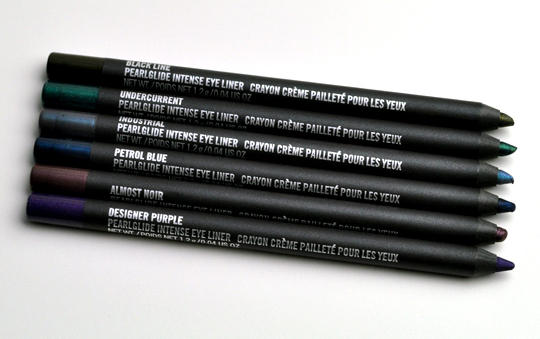 MAC Art Supplies Collection: Pearlglide Eye Liners Review, Photos ...