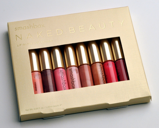 Smashbox Naked Beauty Lip Gloss Collection
