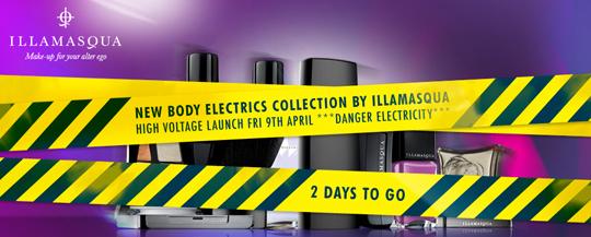 Illamasqua Body Electrics