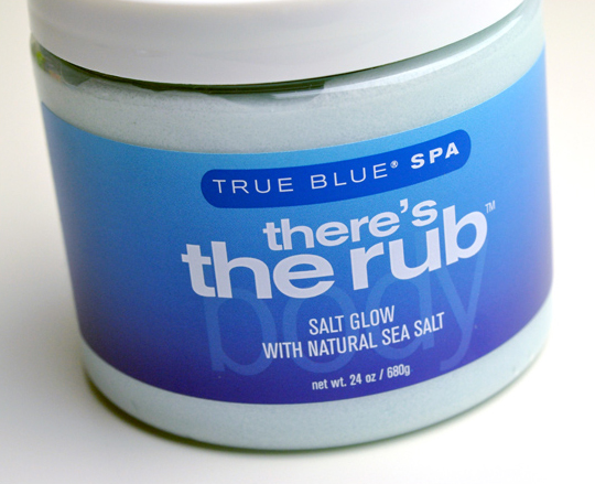 True Blue Spa There's the Rub