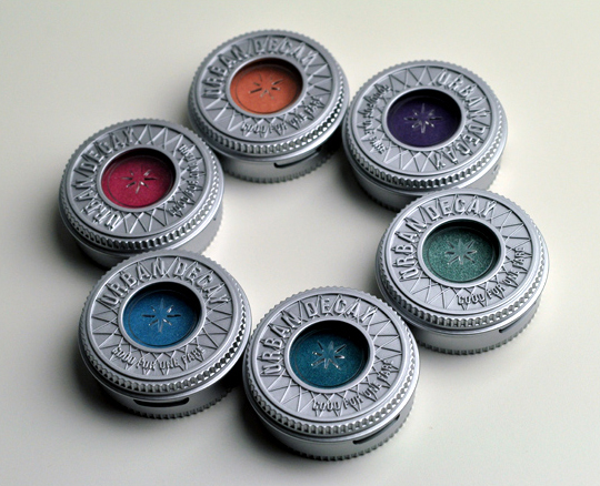 Urban Decay Sephora Exclusive Eyeshadows
