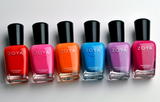 Zoya Flash Collection