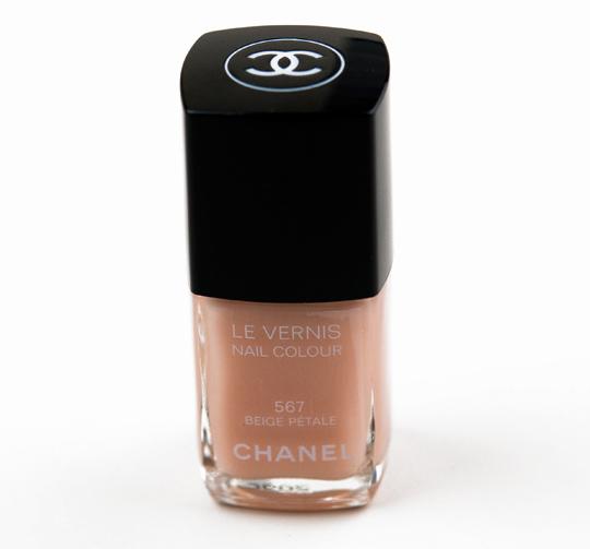 Chanel Beige Petale Le Vernis