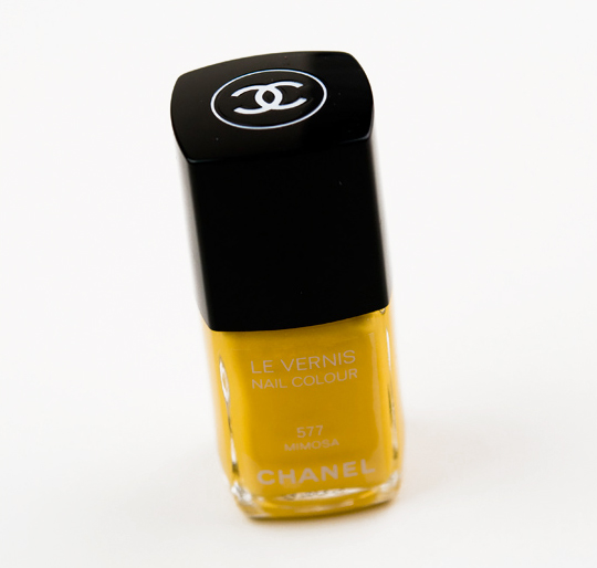 Chanel Mimosa Le Vernis