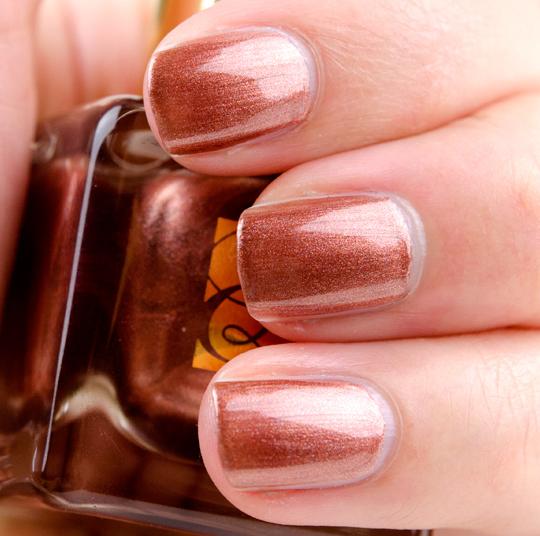 Estee Lauder Shimmering Bronze Nail Lacquer