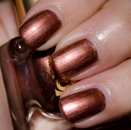 Estee Lauder Shimmering Bronze Nail Lacquer