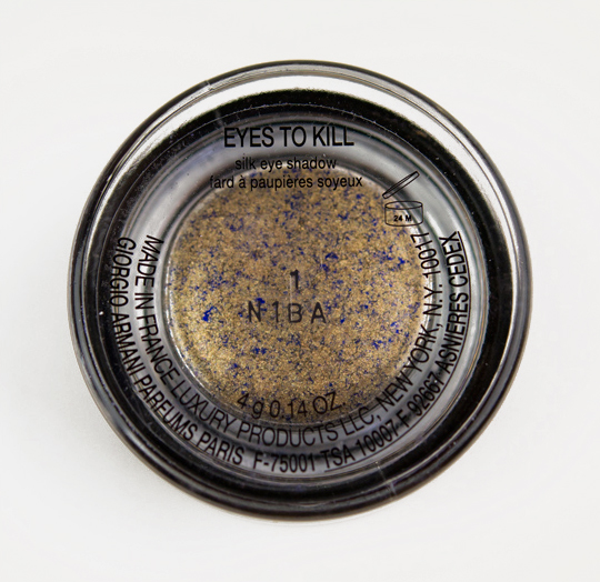 Giorgio Armani Blast of Blue (1) Eyes to Kill Intense Eyeshadow