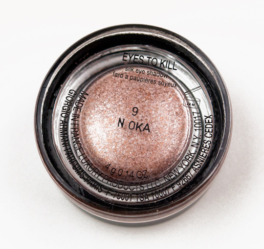 Giorgio Armani Rock Sand (9) Eyes to Kill Intense Eyeshadow
