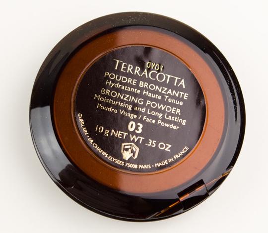 Guerlain Terracotta Bronzing Powder Review, Photos ...