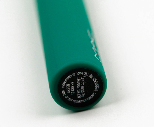 MAC Green is Green Mascara