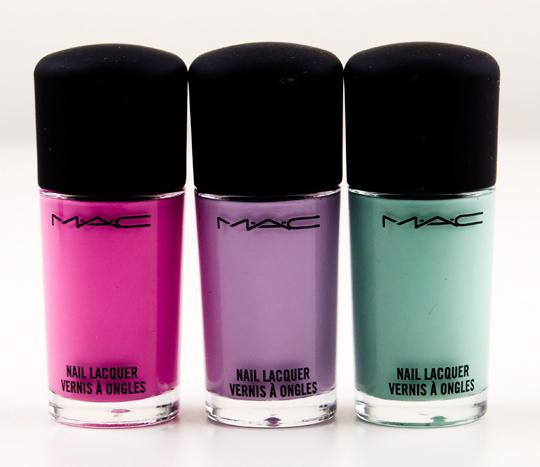 MAC Quite Cute Nail Lacquers
