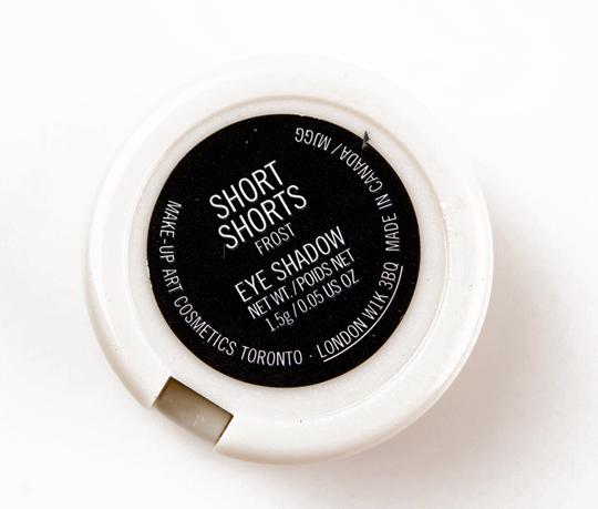MAC Short ShortsEyeshadow
