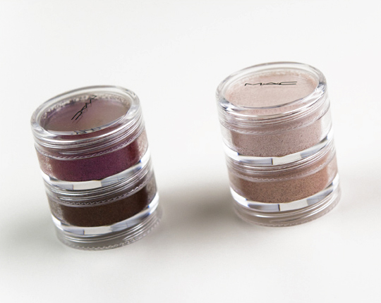 MAC Summer Stash Crushed Metallic Pigment Stack