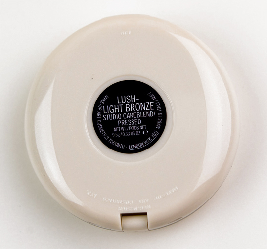 MAC Lush-Light Bronze Studio Careblend Pressed Powder