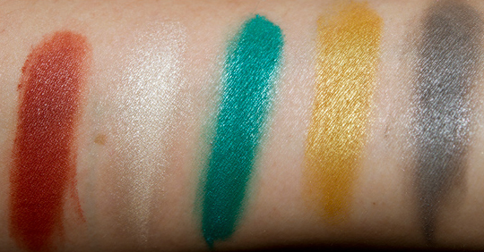 MAC Surf Baby Eyeshadow Swatches
