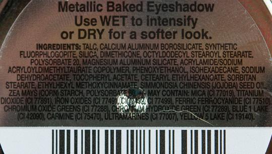 Milani Blue My Mind Baked Eyeshadow