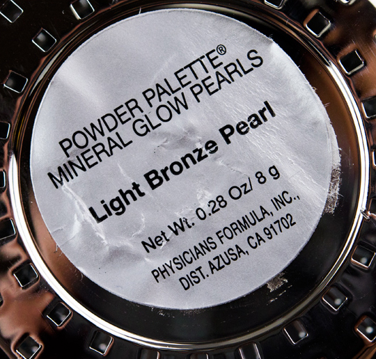 Physicians Formula Light Bronze Pearl Mineral Glow Pearls