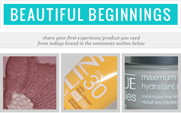 Beautiful Beginnings with Clinique