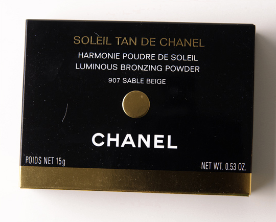 Chanel Sable Beige Soleil Tan de Chanel