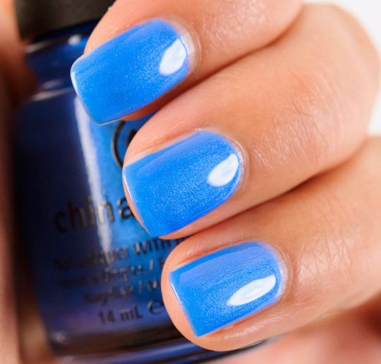 China Glaze Splish Splash Nail Lacquer