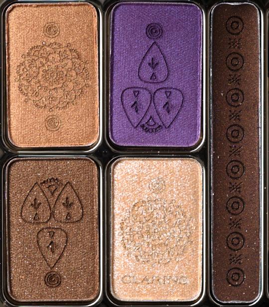 Clarins Enchanted Summer Color Quartet & Liner Palette