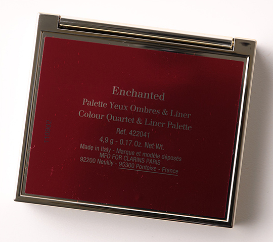 Clarins Enchanted Summer Color Quartet & Liner Palette