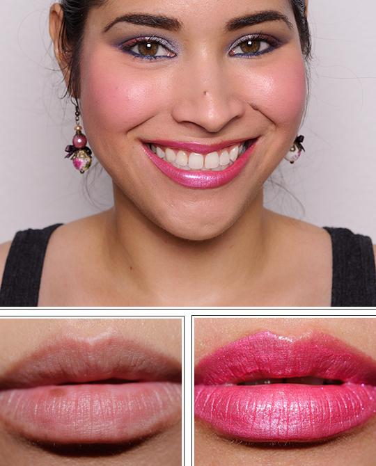 Estee Lauder Cosmic Pink Pure Color Sequin Finish Lip Gloss