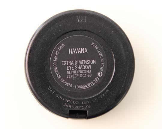 MAC Havana Extra Dimension Eyeshadow