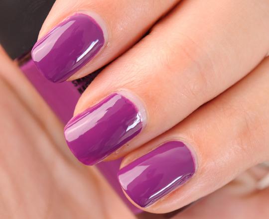 MAC In the Dark... Purple Nail Lacquer