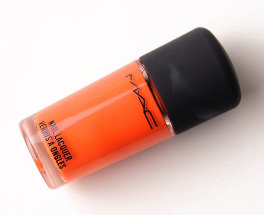 MAC Morange Nail Lacquer