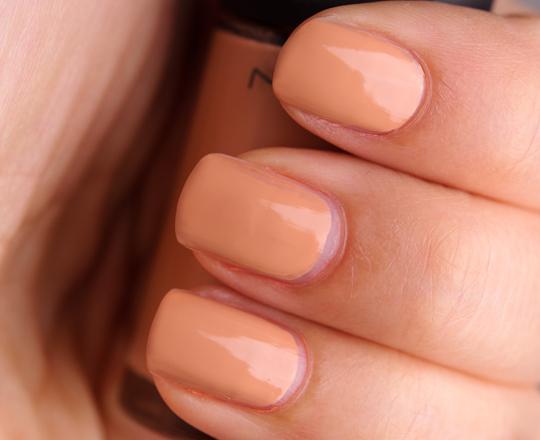 MAC Peachstock Nail Lacquer