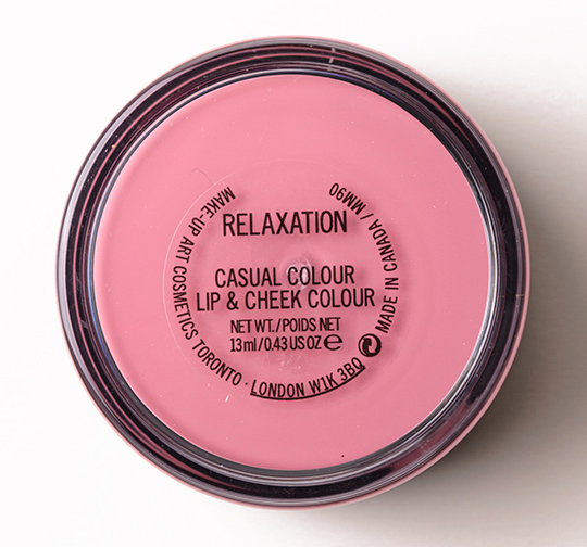 MAC Relaxation Casual Colour Lip & Cheek Colour
