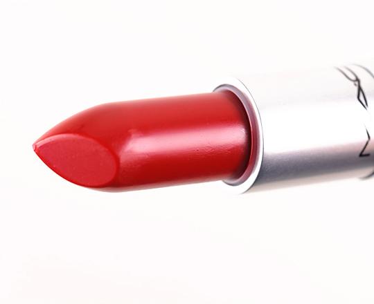 MAC Ruffian Red Lipstick