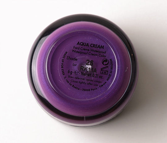 Make Up For Ever #26 Aqua Cream