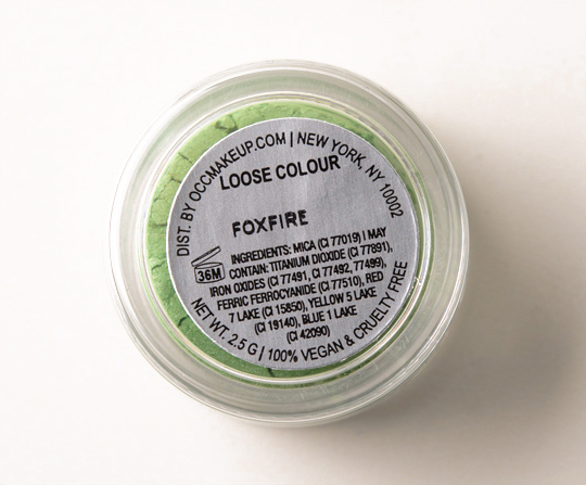 OCC Foxfire Loose Colour Concentrate