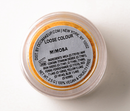 OCC Mimosa Loose Colour Concentrate