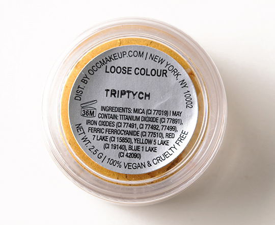 OCC Triptych Loose Colour Concentrate