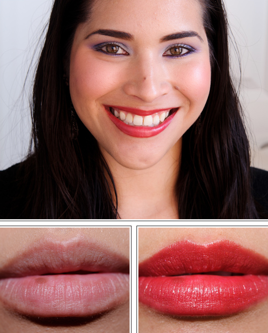 Shiseido Sweet Pea RD 304 Perfect Rouge Lipstick