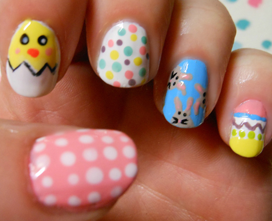 Spotlight on spring nail art and looks prinsesfo Image collections