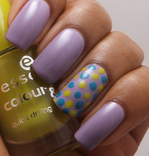Ehmkay Nails Shy Bunny Easter Nail Art: Spotlight On: Spring Nail Art And Looks