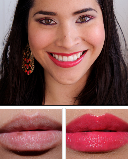 Tarina Tarantino Fuchsia Lining Conditioning Lip Sheen