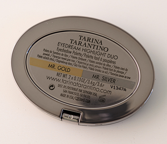 Tarina Tarantino Mr. Gold/Mr. Silver Eyedream Highlight Duo