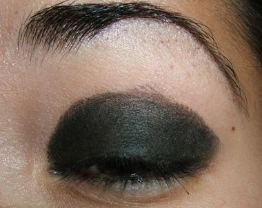 макияж дымчатые глаза смоки айс